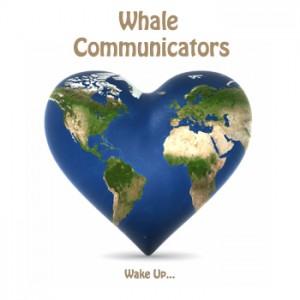 Whale Communicators Logo - Wake UpLarge
