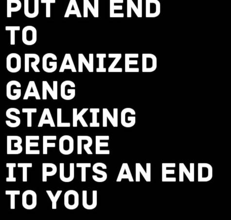 gangland stalking and targeted individuals – Heart